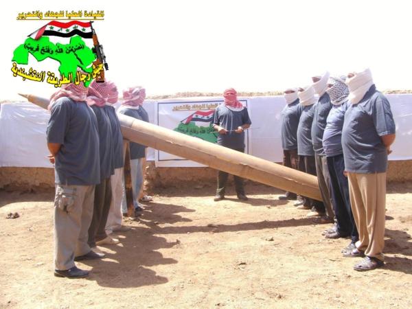 قصف مقر للعدو الامريكي  بصاروخ النذير بتاريخ 24-10-2012 041