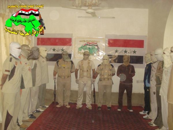 جيش النقشبندية قصف مقر للعدو الأمريكي بـ 3 صواريخ البينة بتاريخ 17-9-2013 203