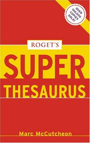 Download Roget's superthesaurus