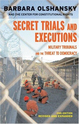 Download Secret Trials and Executions