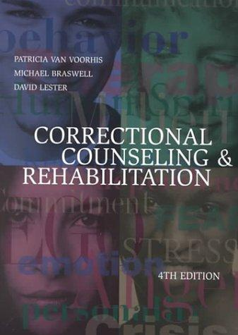 Download Correctional counseling & rehabilitation