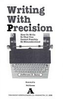Writing with precision by Jefferson D. Bates
