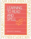 Download Learning to read and spell