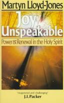 Download Joy Unspeakable