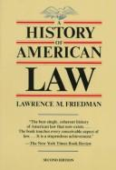 Download A history of American law