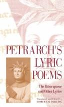 Petrarch's lyric poems by Francesco Petrarca