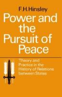 Power and the Pursuit of Peace