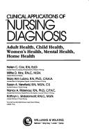 Download Clinical Applications of Nursing Diagnosis