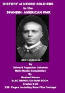 Download History of Negro Soldiers in the Spanish -American War and Other Items of Interest