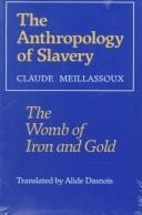 Download The anthropology of slavery