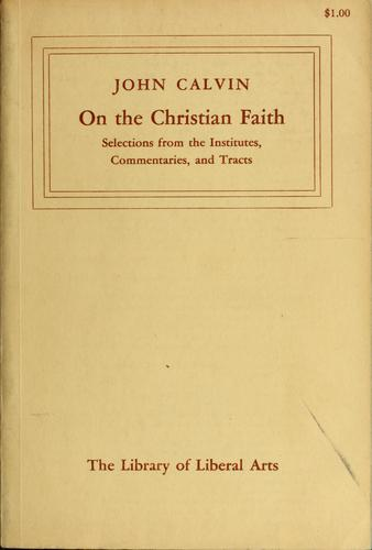On the Christian faith