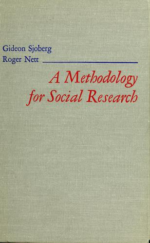 A methodology for social research