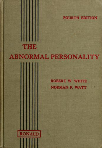 Download The abnormal personality
