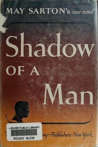 Shadow of a man.