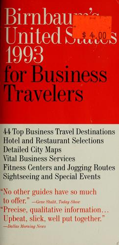Birnbaum's United States 1993 for Business Travelers