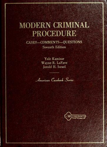 Modern criminal procedure