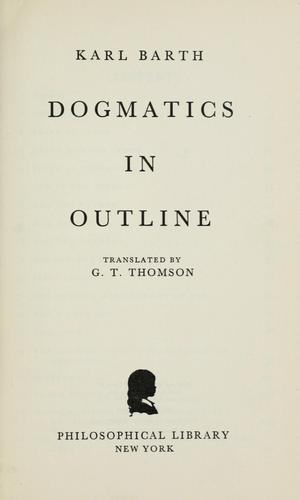Download Dogmatics in outline