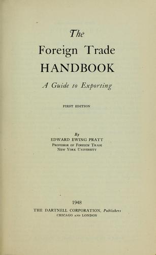 Download The foreign trade handbook