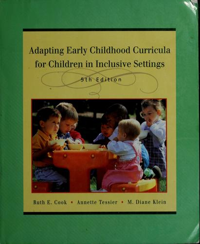 Download Adapting early childhood curricula for children in inclusive settings