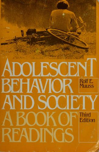 Download Adolescent behavior and society