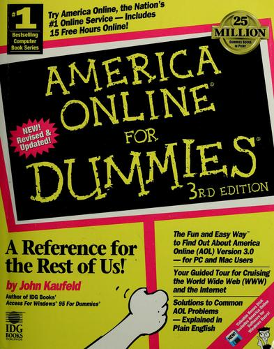 Download America Online for dummies