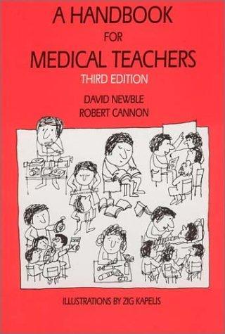 Download A handbook for medical teachers