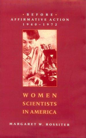 Women scientists in America