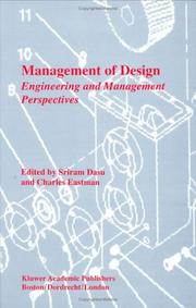 Management Of Design: Engineering And Management Perspectives PDF Download