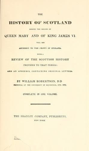 Download The history of Scotland