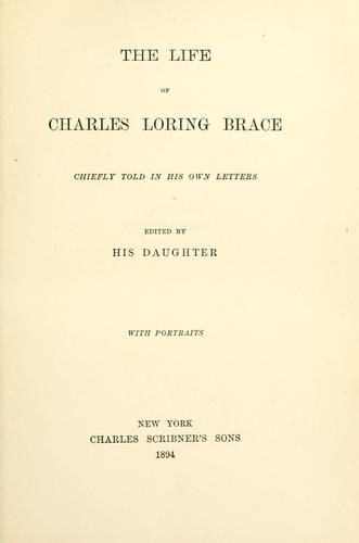 Download The life of Charles Loring Brace