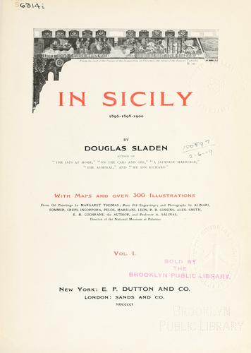 Download In Sicily, 1896-1898-1900.