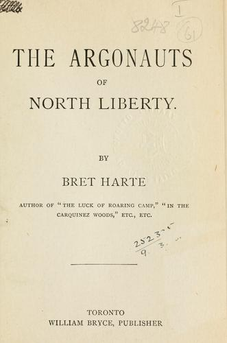 Download The  Argonauts of North Liberty.