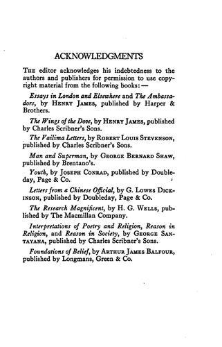 A treasury of English prose