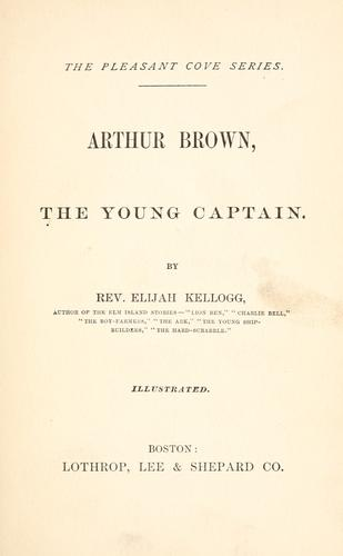 Download Arthur Brown, the young captain