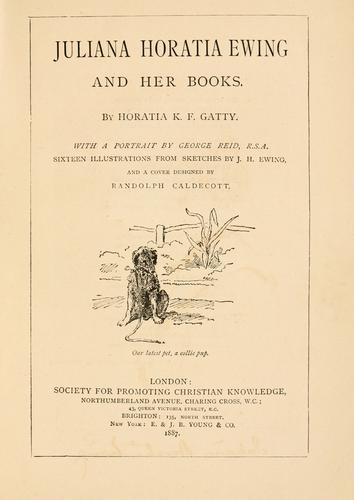 Download Juliana Horatia Ewing and her books