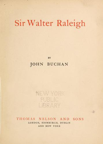 Download Sir Walter Raleigh.