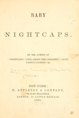 Baby nightcaps