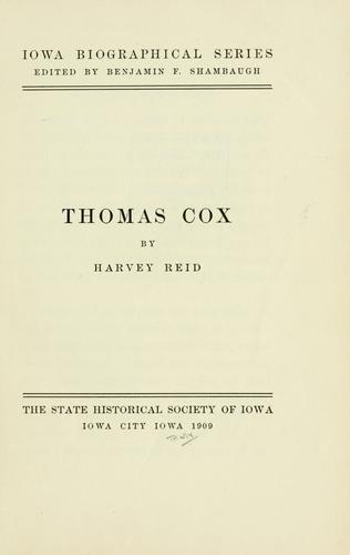 Thomas Cox