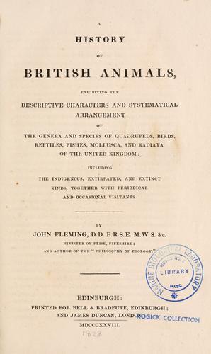 History of British animals