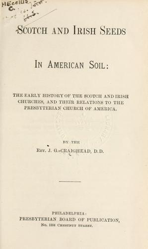 Download Scotch and Irish seeds in American soil