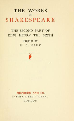 The second part of King Henry the Sixth.
