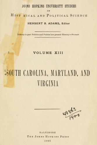 Download Government of the colony of South Carolina