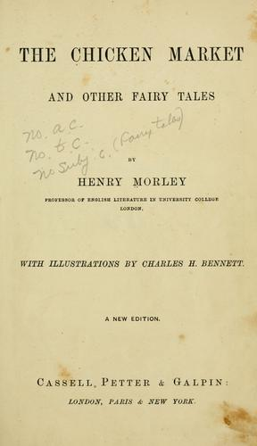 Download The chicken market and other fairy tales