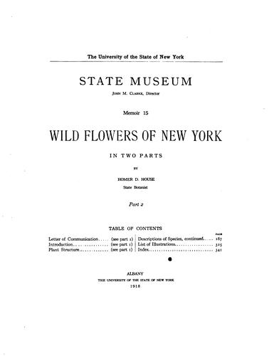 Download Wild flowers of New York