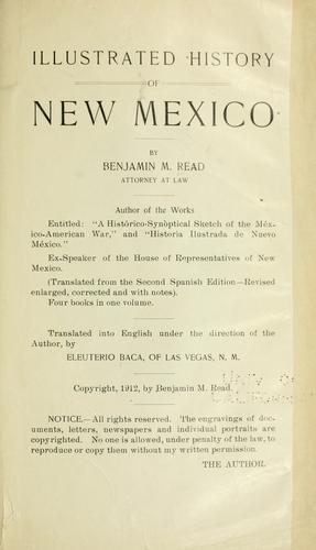 Download Illustrated history of New Mexico
