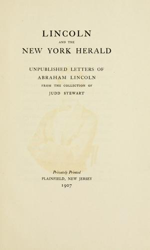 Lincoln and the New York herald