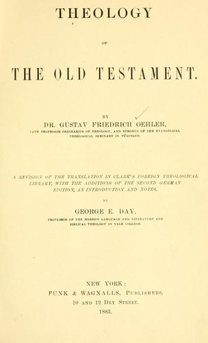 Theology of the Old Testament.