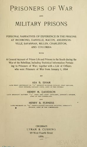 Prisoners of war and military prisons