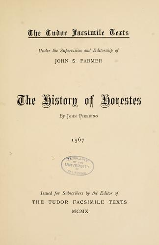 The History of Horestes