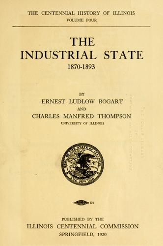 The industrial state, 1870-1893